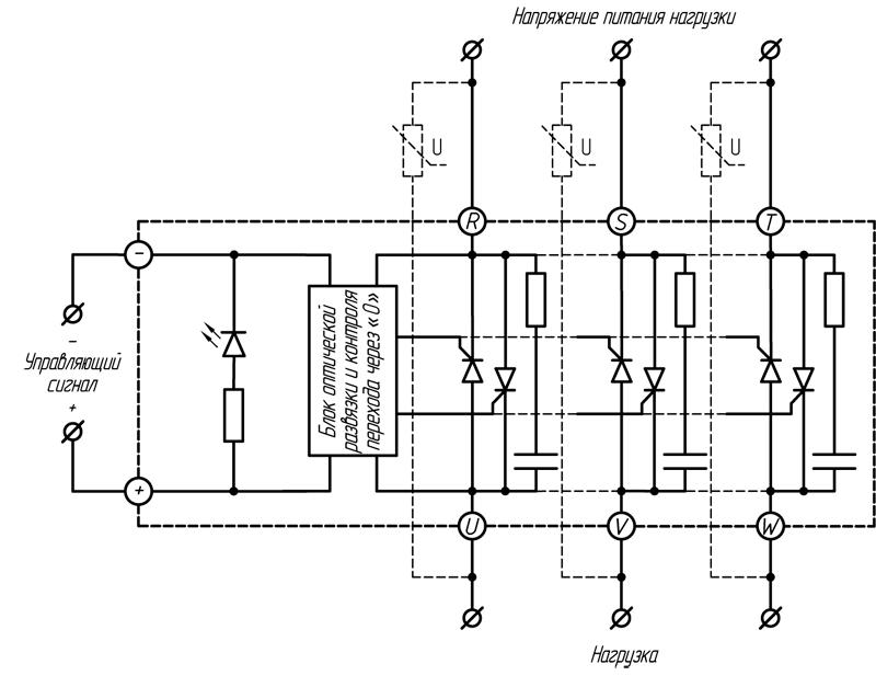 Реле серии HT-хх44.ZD3 (≥ 100A)