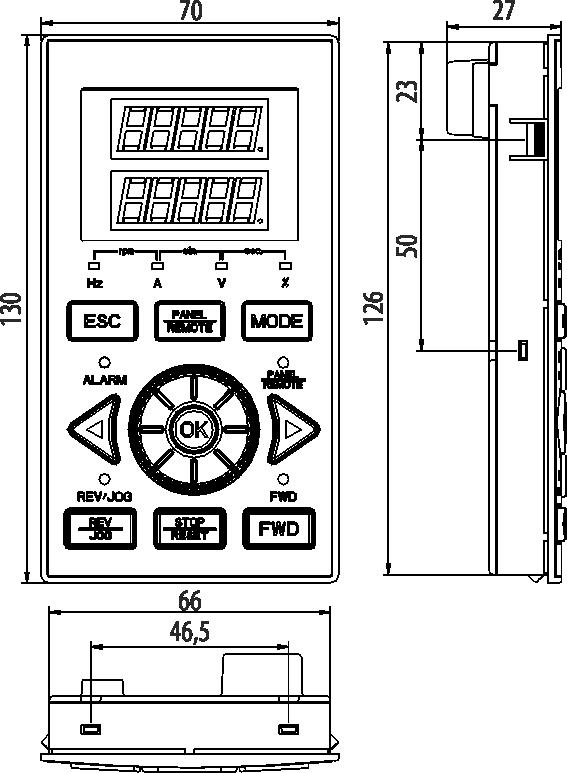 Панель управления AFD-XPNL.22